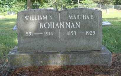 BOHANNAN, MARTHA E. - Madison County, Arkansas | MARTHA E. BOHANNAN - Arkansas Gravestone Photos