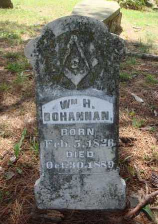 BOHANNAN, WILLIAM H. - Madison County, Arkansas | WILLIAM H. BOHANNAN - Arkansas Gravestone Photos