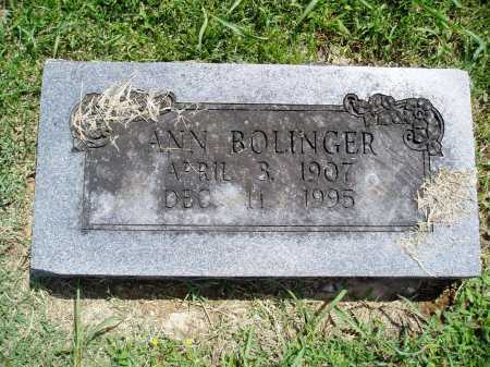 BOLINGER, ANN - Madison County, Arkansas | ANN BOLINGER - Arkansas Gravestone Photos