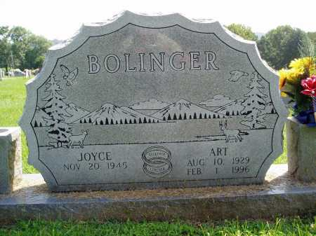 BOLINGER, ART - Madison County, Arkansas | ART BOLINGER - Arkansas Gravestone Photos