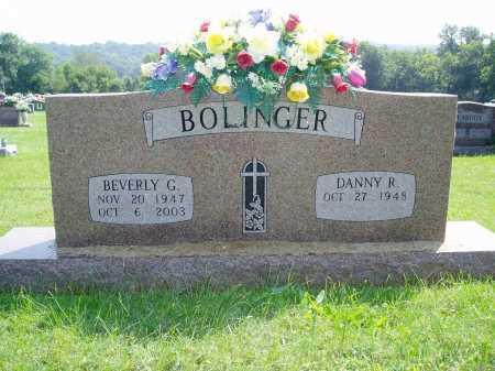 BOLINGER, BEVERLY G. - Madison County, Arkansas | BEVERLY G. BOLINGER - Arkansas Gravestone Photos