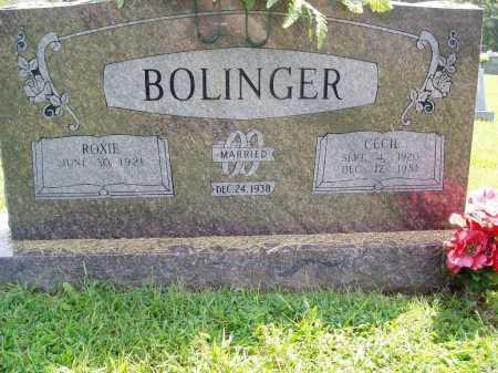 BOLINGER, CECIL - Madison County, Arkansas | CECIL BOLINGER - Arkansas Gravestone Photos