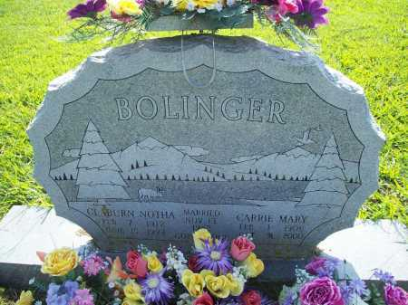 BOLINGER, CARRIE MARY - Madison County, Arkansas | CARRIE MARY BOLINGER - Arkansas Gravestone Photos