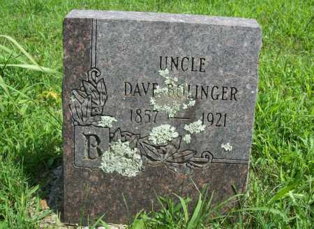 BOLINGER, DAVE - Madison County, Arkansas | DAVE BOLINGER - Arkansas Gravestone Photos