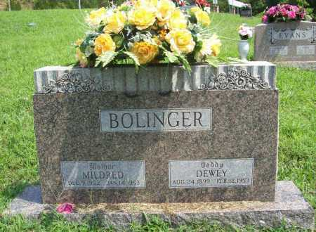 BOLINGER, MILDRED - Madison County, Arkansas | MILDRED BOLINGER - Arkansas Gravestone Photos