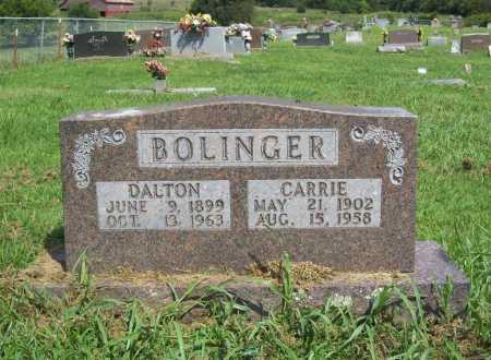 BOLINGER, DALTON - Madison County, Arkansas | DALTON BOLINGER - Arkansas Gravestone Photos