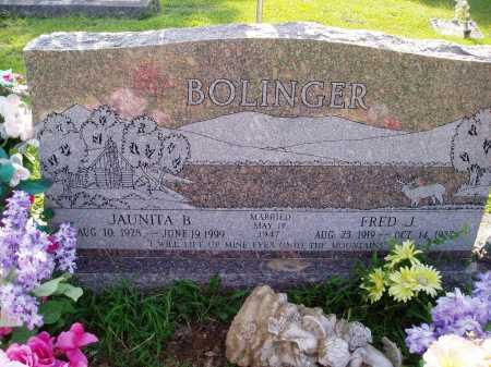 BOLINGER, FRED J. - Madison County, Arkansas | FRED J. BOLINGER - Arkansas Gravestone Photos