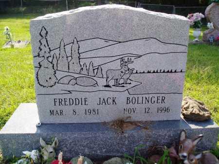 BOLINGER, FREDDIE JACK - Madison County, Arkansas | FREDDIE JACK BOLINGER - Arkansas Gravestone Photos