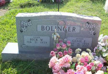 BOLINGER, GENIE ELLEN - Madison County, Arkansas | GENIE ELLEN BOLINGER - Arkansas Gravestone Photos