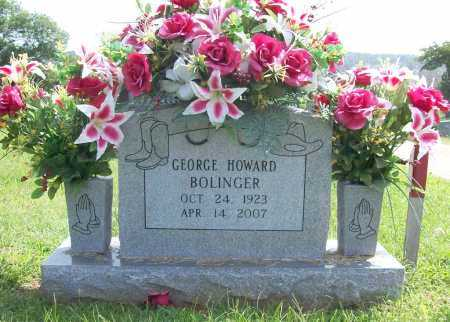 BOLINGER, GEORGE HOWARD - Madison County, Arkansas | GEORGE HOWARD BOLINGER - Arkansas Gravestone Photos