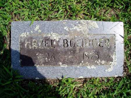 BOLINGER, HAZEL - Madison County, Arkansas | HAZEL BOLINGER - Arkansas Gravestone Photos