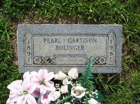 SPRADLING BOLINGER, HULGA PEARL - Madison County, Arkansas | HULGA PEARL SPRADLING BOLINGER - Arkansas Gravestone Photos