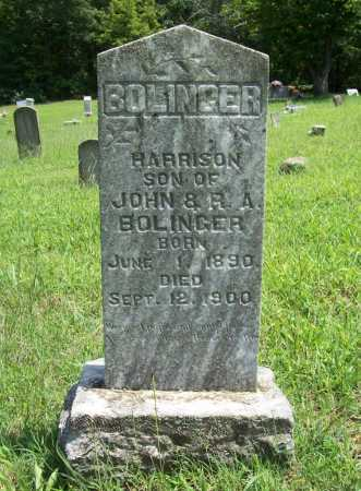 BOLINGER, HARRISON - Madison County, Arkansas | HARRISON BOLINGER - Arkansas Gravestone Photos