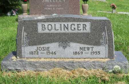 BOLINGER, NEWT - Madison County, Arkansas | NEWT BOLINGER - Arkansas Gravestone Photos