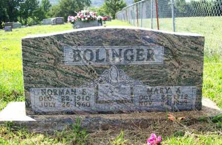 BOLINGER, NORMAN E. - Madison County, Arkansas | NORMAN E. BOLINGER - Arkansas Gravestone Photos