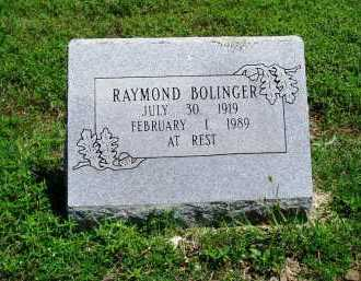 BOLINGER, RAYMOND - Madison County, Arkansas | RAYMOND BOLINGER - Arkansas Gravestone Photos