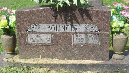 PHARRIS BOLINGER, JESSIE - Madison County, Arkansas | JESSIE PHARRIS BOLINGER - Arkansas Gravestone Photos