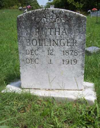 BOLLINGER, RUTHA - Madison County, Arkansas   RUTHA BOLLINGER - Arkansas Gravestone Photos