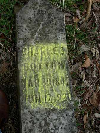 BOTTOM, CHARLES - Madison County, Arkansas | CHARLES BOTTOM - Arkansas Gravestone Photos