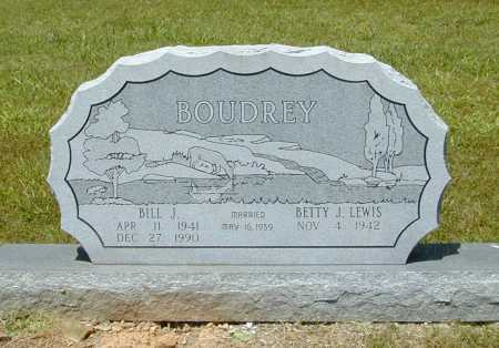 BOUDREY, BILL J. - Madison County, Arkansas | BILL J. BOUDREY - Arkansas Gravestone Photos