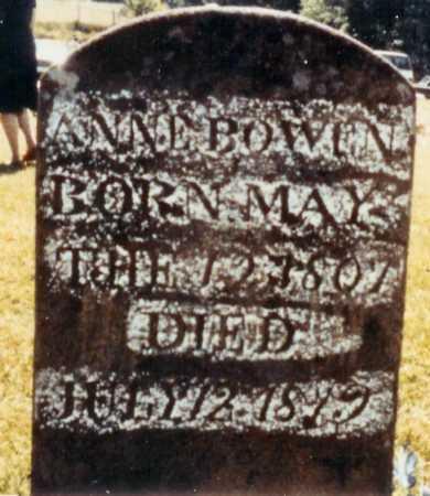 BOWEN, ANNE - Madison County, Arkansas | ANNE BOWEN - Arkansas Gravestone Photos
