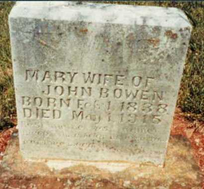 BOWEN, MARY ANN - Madison County, Arkansas | MARY ANN BOWEN - Arkansas Gravestone Photos