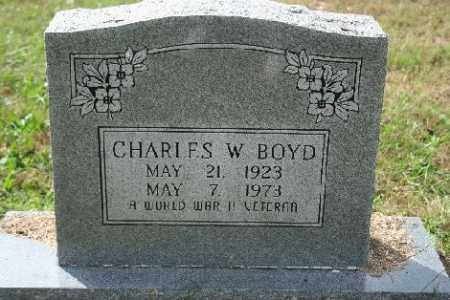 BOYD (VETERAN WWII), CHARLES WALTER - Madison County, Arkansas | CHARLES WALTER BOYD (VETERAN WWII) - Arkansas Gravestone Photos