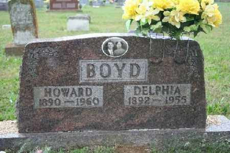 BOYD, HOWARD - Madison County, Arkansas | HOWARD BOYD - Arkansas Gravestone Photos