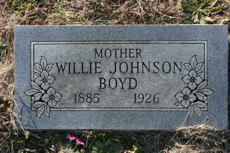BOYD, WILLIE - Madison County, Arkansas | WILLIE BOYD - Arkansas Gravestone Photos
