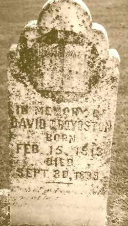 BOYDSTON, DAVID CARROL - Madison County, Arkansas | DAVID CARROL BOYDSTON - Arkansas Gravestone Photos