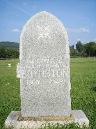 BOYDSTON, MANERVIA E. - Madison County, Arkansas | MANERVIA E. BOYDSTON - Arkansas Gravestone Photos