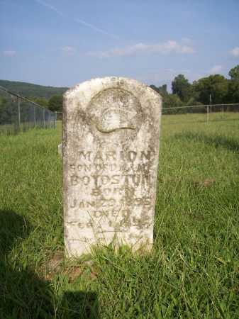 BOYDSTON, MARION - Madison County, Arkansas | MARION BOYDSTON - Arkansas Gravestone Photos