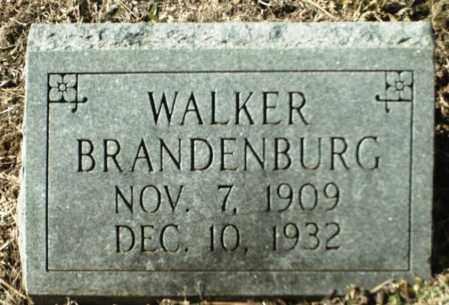 BRANDENBURG, WALKER - Madison County, Arkansas | WALKER BRANDENBURG - Arkansas Gravestone Photos
