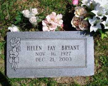 BRYANT, HELEN FAY - Madison County, Arkansas | HELEN FAY BRYANT - Arkansas Gravestone Photos