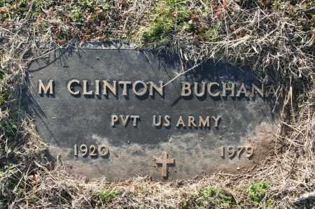 BUCHANAN (VETERAN), M. CLINTON - Madison County, Arkansas | M. CLINTON BUCHANAN (VETERAN) - Arkansas Gravestone Photos