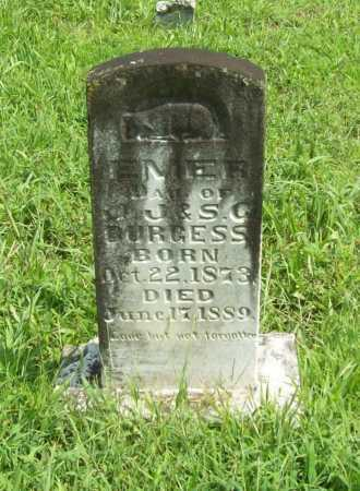 BURGESS, EMER - Madison County, Arkansas | EMER BURGESS - Arkansas Gravestone Photos