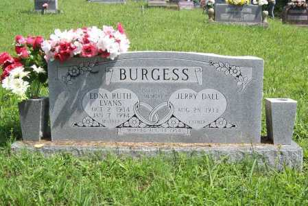 EVANS BURGESS, EDNA RUTH - Madison County, Arkansas | EDNA RUTH EVANS BURGESS - Arkansas Gravestone Photos
