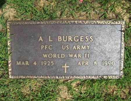 BURGESS (VETERAN WWII), A. L. - Madison County, Arkansas | A. L. BURGESS (VETERAN WWII) - Arkansas Gravestone Photos