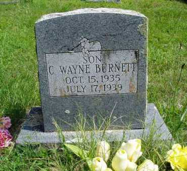 BURNETT, C. WAYNE - Madison County, Arkansas | C. WAYNE BURNETT - Arkansas Gravestone Photos