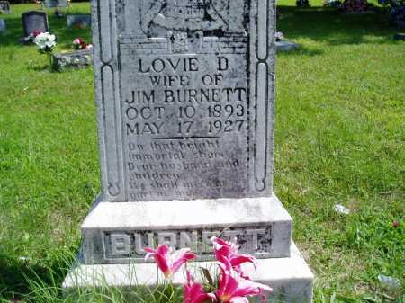 BURNETT, LOVIE D. - Madison County, Arkansas | LOVIE D. BURNETT - Arkansas Gravestone Photos