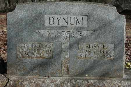 BYNUM, GEORGE W. - Madison County, Arkansas | GEORGE W. BYNUM - Arkansas Gravestone Photos