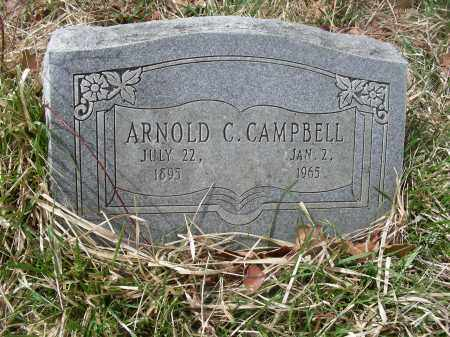 CAMPBELL, ARNOLD CALHOUN - Madison County, Arkansas | ARNOLD CALHOUN CAMPBELL - Arkansas Gravestone Photos