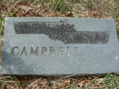 CAMPBELL, GEORGE FRANKLIN - Madison County, Arkansas | GEORGE FRANKLIN CAMPBELL - Arkansas Gravestone Photos