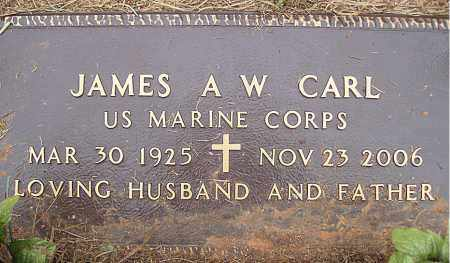 "CARL (VETERAN WWII), JAMES  A. W. ""ANDY"" - Madison County, Arkansas 