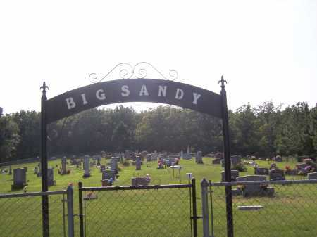 *BIG SANDY CEMETERY ENTRANCE,  - Madison County, Arkansas |  *BIG SANDY CEMETERY ENTRANCE - Arkansas Gravestone Photos