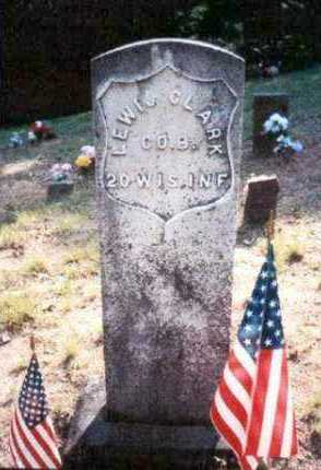 CLARK (VETERAN UNION), LEWIS - Madison County, Arkansas | LEWIS CLARK (VETERAN UNION) - Arkansas Gravestone Photos