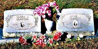 CLAYTON, JACOB AMZO - Madison County, Arkansas | JACOB AMZO CLAYTON - Arkansas Gravestone Photos