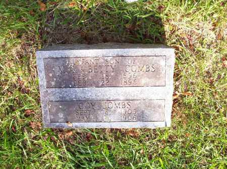 COMBS, INFANT SON - Madison County, Arkansas | INFANT SON COMBS - Arkansas Gravestone Photos