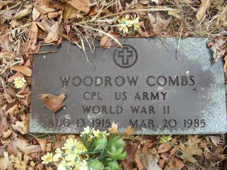 COMBS (VETERAN WWII), WOODROW - Madison County, Arkansas | WOODROW COMBS (VETERAN WWII) - Arkansas Gravestone Photos