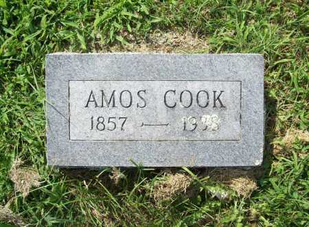 COOK, AMOS - Madison County, Arkansas | AMOS COOK - Arkansas Gravestone Photos